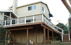 wrap around deck plans second story deck second story deck free 2nd story deck plans