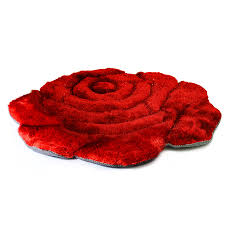 Kids Modern Rugs by Amazon Com Super Soft Solid Color Area Rug Modern Rose Flower