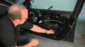 removing bmw door panel u0026 replacing window regulator youtube