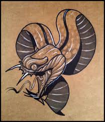 snake tiger tattoo how to draw a tattoo style snake by thebrokenpuppet youtube