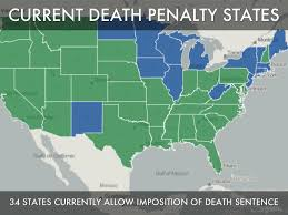 Death Penalty States Map by Prop 34 Workshop By John Given