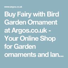 buy with bird garden ornament at argos co uk your