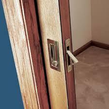 Hideaway Closet Doors How To Install A Pocket Door Easily Sliding Pocket Door Plans