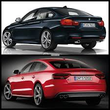 comparison bmw 4 series gran coupe vs audi s5 sportback