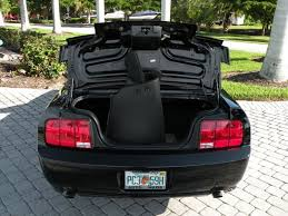 mustang trunk space 2006 ford mustang gt convertible deluxe for sale in fort myers fl