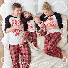 2018 family matching pajamas set baby