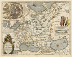 Moscow Russia Map Map Of Russia U0026 Moscow By Blaeu Thevintagemapshop Com The