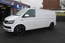 volkswagen van wheels t6 van fitted with calibre manhattan 20