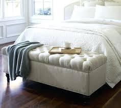 banc pour chambre à coucher banquette bout de lit loodo co