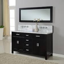 black bathroom cabinet ideas black bathroom vanity with white marble top home design ideas