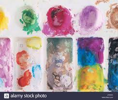 Paint Pallet by A Paint Pallet Stock Photo Royalty Free Image 16186590 Alamy
