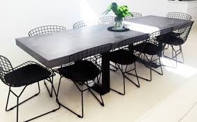 concrete dining room table elegant concrete outdoor dining table 56 for your home improvement