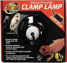 Zoo Med Lighting by Zoo Med Deluxe Porcelain Clamp Lamp Chewy Com