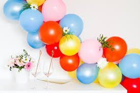 balloon garland easy diy balloon garland bespoke wedding