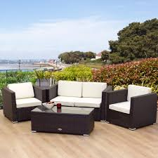 woven patio furniture decor of rattan patio furniture charm of outdoor rattan furniture