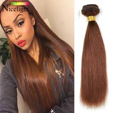 picture of hair sew ins dark brown color brazilian virgin hair straight sew in brazilian