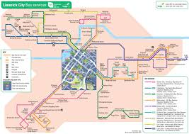 Dart Rail Map Transport For Ireland Maps Of Public Transport Services