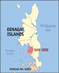 san jose mindoro map san jose dinagat islands