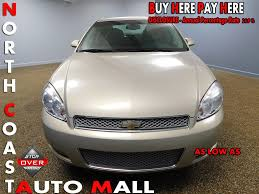 2012 used chevrolet impala 4dr sdn lt at north coast auto mall