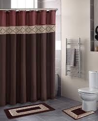 Bathtub Shower Curtain Ideas Remarkable Bathroom Shower Curtain Sets And Bathroom Clever Shower