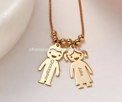my name jewelry heart pendant birthstone necklace my name necklace yiwu hengbiao