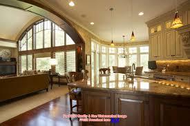 paint color transition open floor plan
