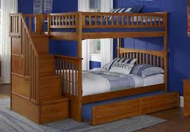 Staircase Bunk Beds Columbia Stairway Bunk Bed In Caramel Latte Bunk