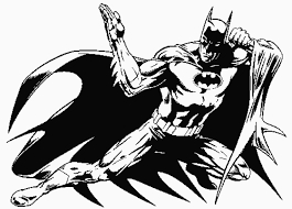 coloring page batman coloring pages 4