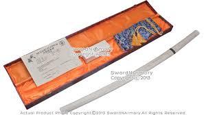 musashi hand forged shirasaya katana sword differentially hardened