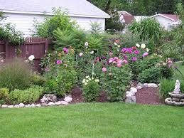 garden design ideas low maintenance dahlia garden by bail dot com