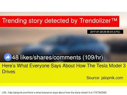 jalopnik posts tesla came up with a brilliant reason to