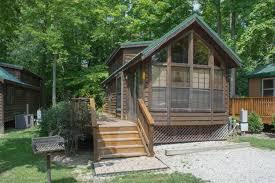 brookville ohio cabin accommodations dayton koa