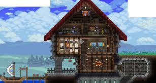 Terraria Map Download Love The Multiple Layers Of Materials Also Love The Metal Fence