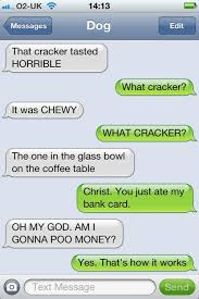 Dog Text Memes - 28 hilarious texts from dogs its nacho