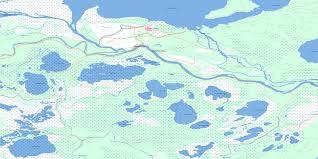 cumberland lake map cumberland house sk free topo map 063e16 at 1 50 000