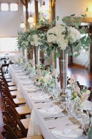 Hydrangea Centerpiece Eucalyptus And Hydrangea Centerpiece Elizabeth Anne Designs The