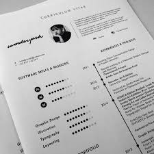 Professional Curriculum Vitae Samples Curriculum Vitae Template Available For Download On Behance