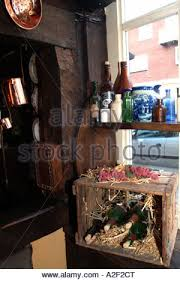 house interior with wine bottles and ornaments in