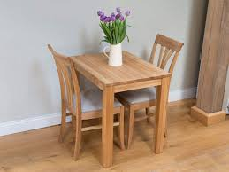 Small Solid Oak Dining Table Cheap  Seater Kitchen Table - Kitchen table for two
