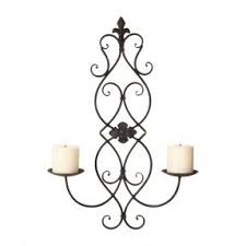 Wall Sconces Candles Holder Wall Sconces Candles Wrought Iron Foter