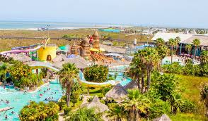 Schlitterbahn beach resort and waterpark in south padre island