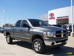 2006 mineral gray metallic dodge ram 2500 lone star edition quad