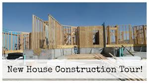 new house tour under construction youtube