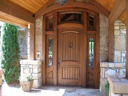 Exterior Wooden Doors With Glass by Exterior Design Gorgeous Wooden Pella Doors With Glass And Bronze