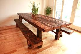 reclaimed wood kitchen table chicago light oak dining room
