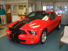 Black Mustang With Red Stripes 2008 Red Gt500 The Mustang Source Ford Mustang Forums