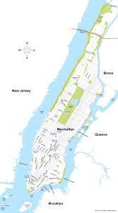 Nyc Maps Nyc Map Manhattan A Map Of Manhattan New York New York Usa