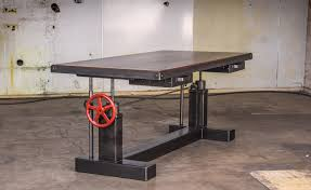 pittsburgh crank sit stand desk vintage industrial crank sit stand desk vintage industrial desks