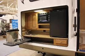 flooring camper with outdoor kitchen best rv remodeling ideas