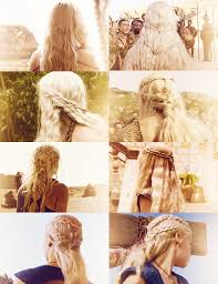 daenerys style hair daenerys targaryen hair appreciation post work that up do